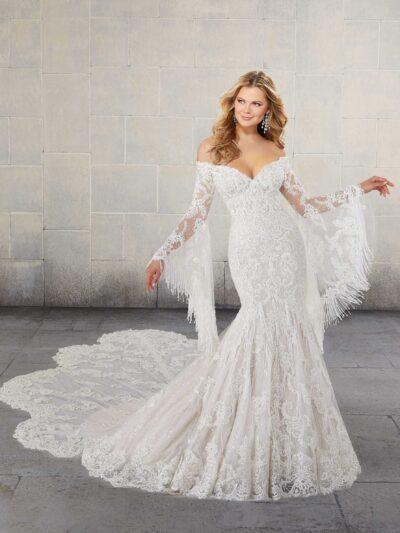 Designer: Morilee - Madiline Gardner Signature Collection - Santina Wedding Dress - 1026