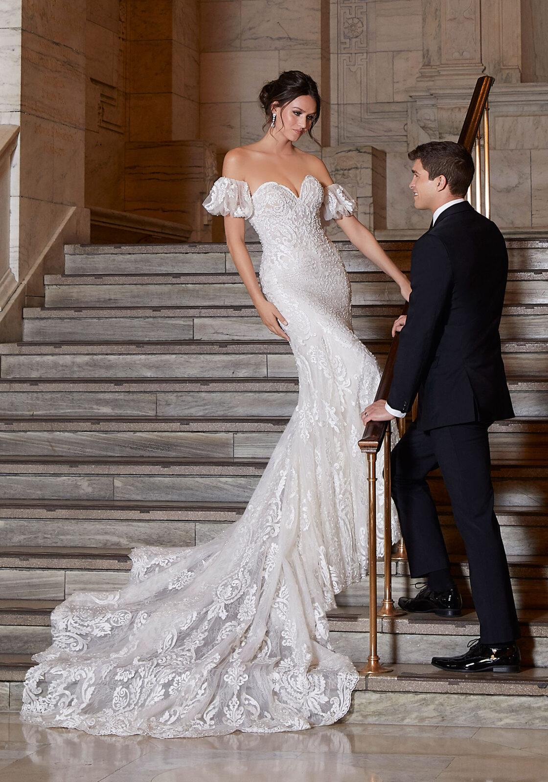 Morilee - Madiline Gardner Signature Collection - Antoinette Wedding Dress - 1041