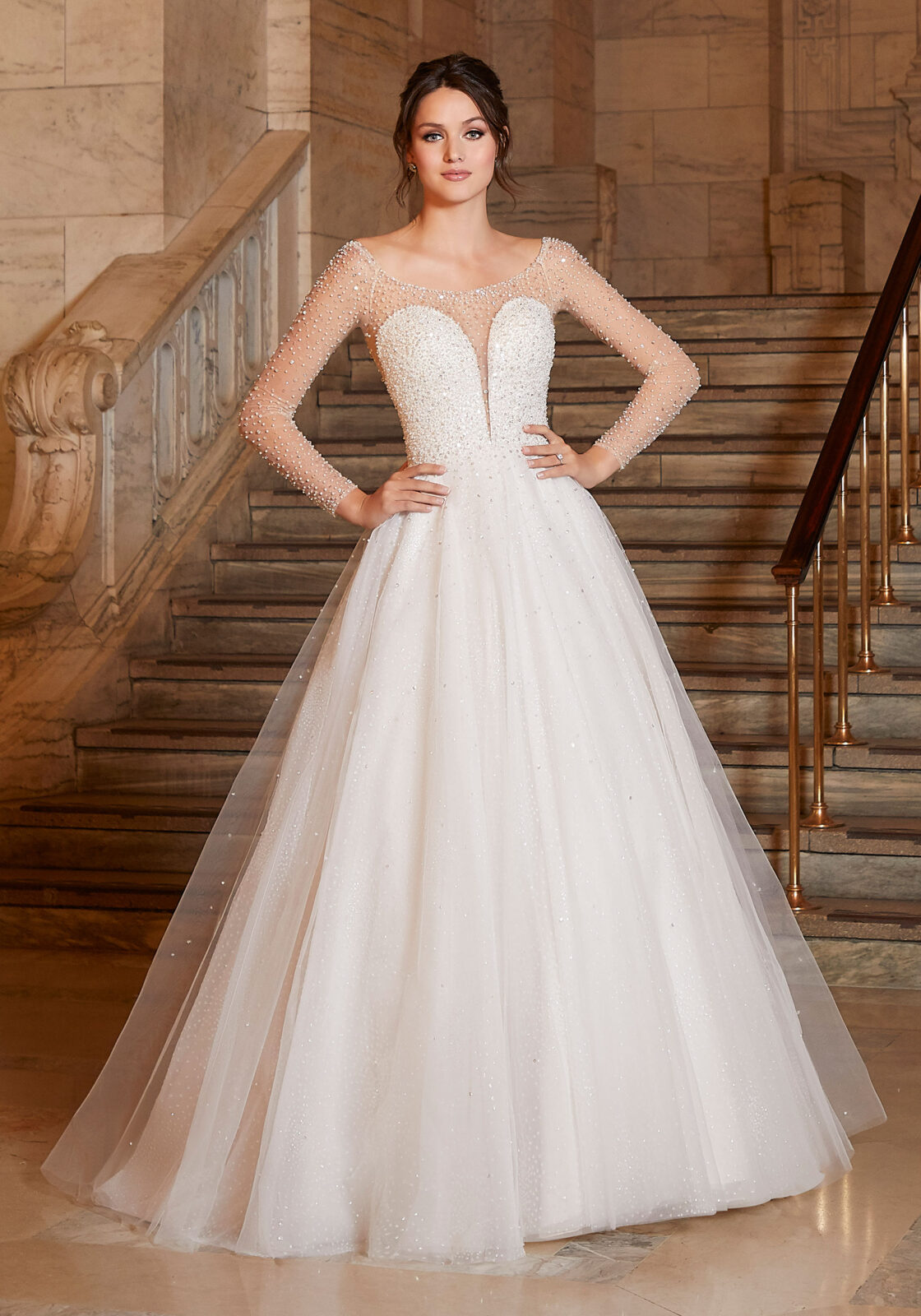 Designer: Morilee - Madiline Gardner Signature Collection - Angelina Wedding Dress - 1049